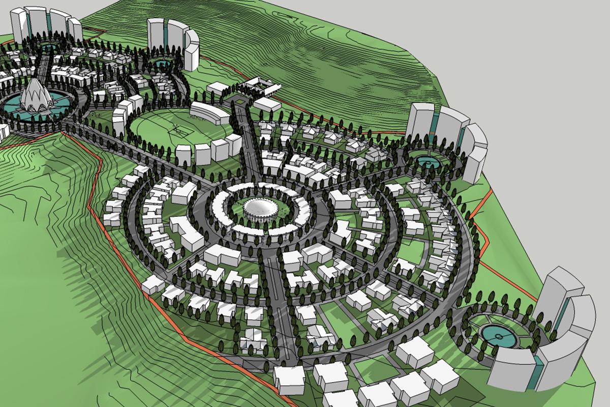 Radial Landscape Design