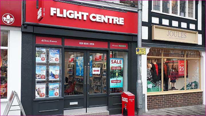 New Flight Centre in Kingston upon Thames
